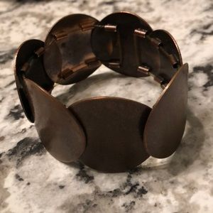 Jewelry - Bronze distressed bracelet